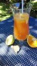 Fruchtcocktail mit Ingwer
