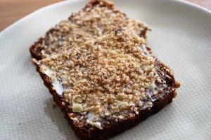 Gomasio auf Brot