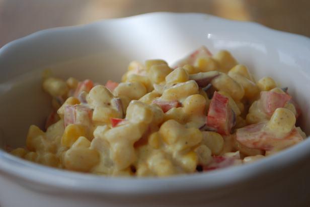 Mais-Salat mit Paprika