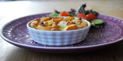Tatletts mit Süßkartoffeln