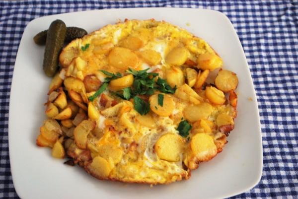 Hausmannskost Bauernfrühstück