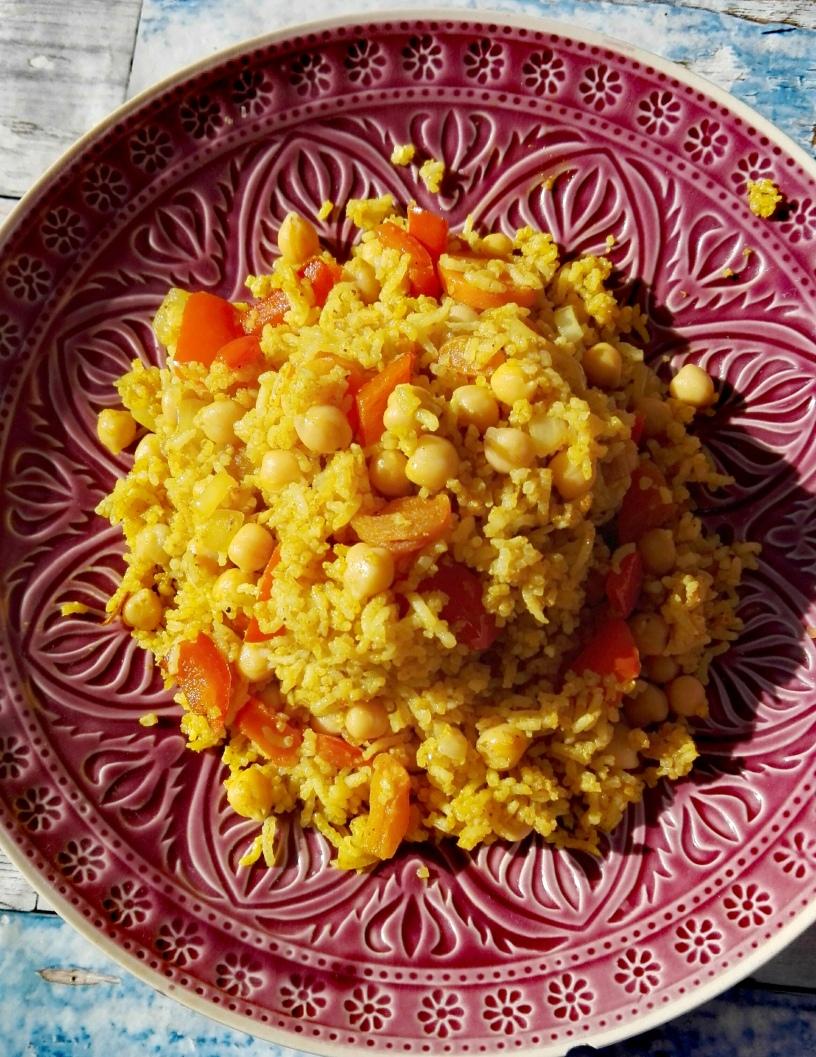 Reisgericht vegan