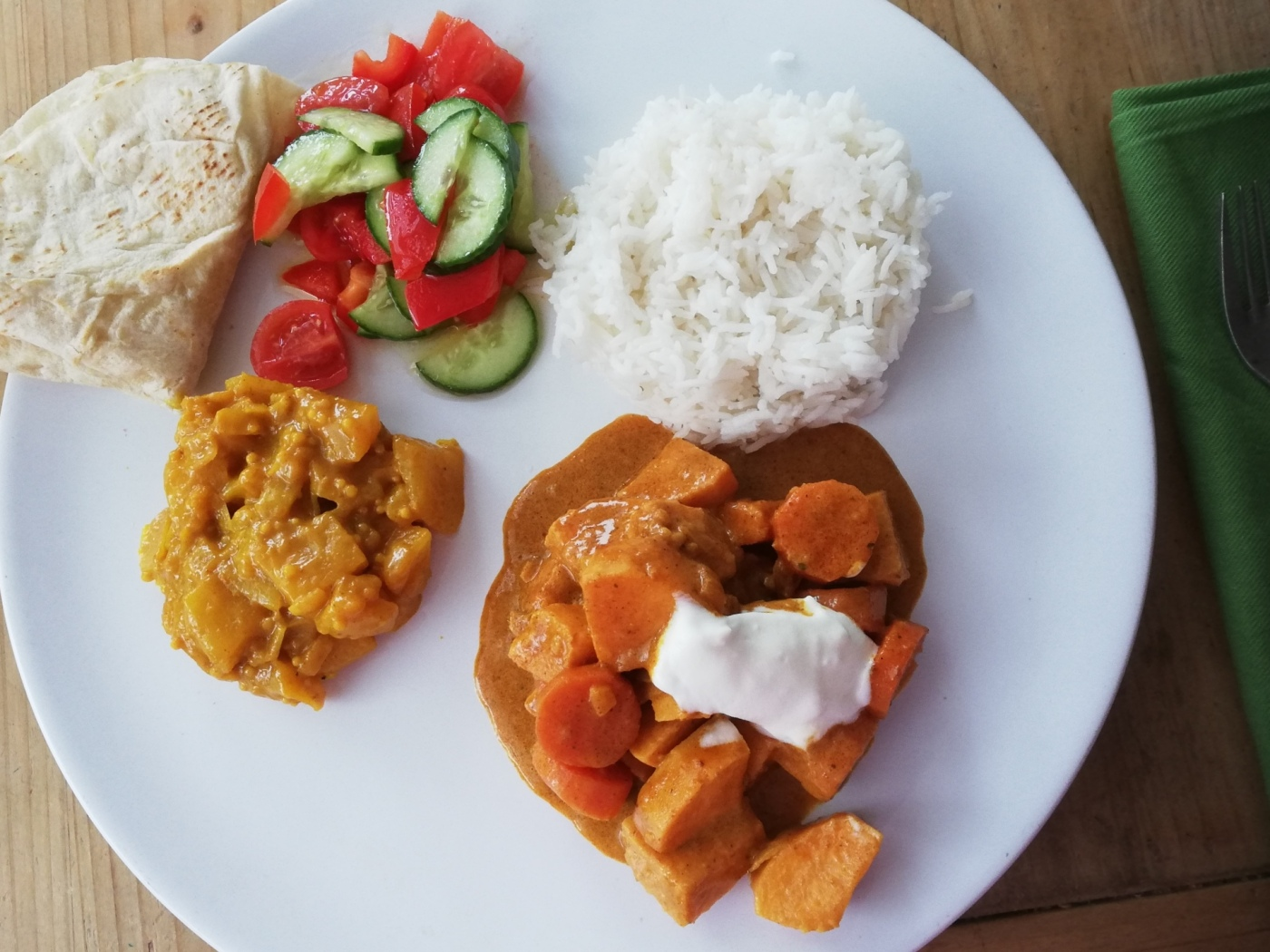 Kumara Curry